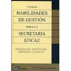 Habilidades de gestión de secretaria eficaz