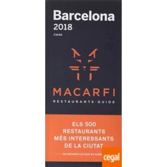 Macarfi 2018 -Guía de Restaurantes de Barcelona-
