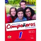 Compañeros 1 alumno + licencia digital. Nueva edición