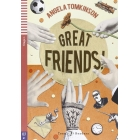 Teen ELI Readers - Great Friends! + Audio-CD - Stage 1 - A1 Movers