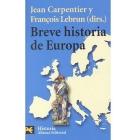 Breve historia de Europa