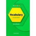 Test it, Fix it : English Vocabulary Pre-intermediate