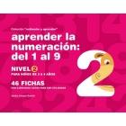 Aprender la numeración del 01 al 9. Nivel 2
