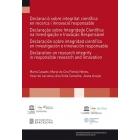 Declaració sobre integritat científica en recerca i innovació responsable (Barcelona-Porto, juliol 2016) Ed, catán/castellano/portugués/inglés