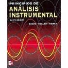 Principios de análisis instrumental.