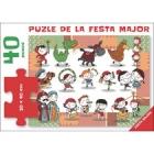 El puzle de la Festa Major (40 peces 30 x 40 cm)