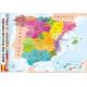 Puzzle magnético enlatado mapa político de España (26x35)
