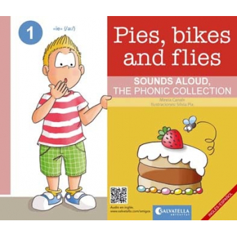 Pies, bikes and flies - Ingles/español - The Phonic Collection