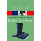 Concise dictionary of English etymology