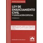 Ley de enjuiciamiento civil y legislación especial ( Colex)