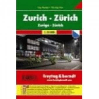 Zúrich 1/10.000 City Pocket