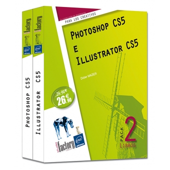 Photoshop CS5 e Illustrator CS5 , Pack 2 libros