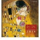 Gustav Klimt, Broschürenkalender 2014