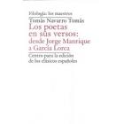 Los poetas en sus versos: de Jorge Manrique a García Lorca