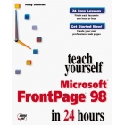 Teach yourself Microsoft FrontPage 98 in 24 hours