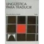 Lingüística para traducir