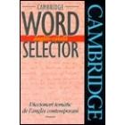 Word selector. Anglès - català. Diccionari temàtic de l'anglès contemporani