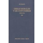 Obras morales y de costumbres, Vol.XIII (Moralia): Sobre la música/Fragmentos
