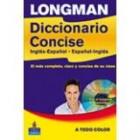Longman Diccionario Concise inglés-español/español-inglés (+CD-ROM)