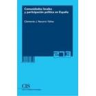 Comunidades locales y participación política en España
