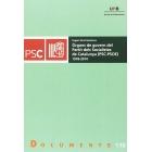 Òrgans de govern del Partit dels Socialistes de Catalunya (PSC-PSOE) 1978-2014
