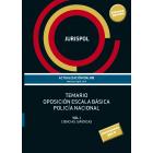 Temario oposición escala básica policía nacional. Vol. I: Ciencias Jurídicas (2019)