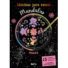 Láminas para rascar Mandalas - Hadas