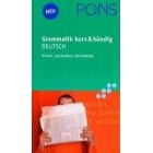 PONS Grammatik Deutsch kurz und bündig