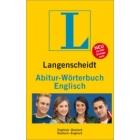 Langenscheidt Abitur-Wörterbuch Englisch