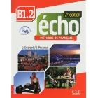 Écho Niveau B1.2 - 2ed - Livre de l'élève + DVD + livret