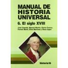 Manual de Historia Universal. Vol.6. El siglo XVIII
