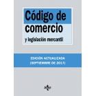Código de comercio y legislación mercantil (2017)