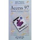 Access 97. Guía práctica para usuarios