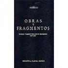 Obras y fragmentos: Teogonía/Trabajos y días/Escudo/Fragmentos/Certamen