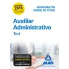 Auxiliar Administrativo de la Administración General del Estado. Test