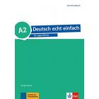 Deutsch echt einfach für Jugendliche A2 Lehrerhandbuch