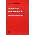 Análisis matemático. (T.3)