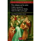Un crimen en la Corte. Caída y ascenso de Gutierre Álvarez de Toledo, Señor de Alba (1376-1446)
