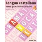 Lengua castellana, texto, gramática, vocabulario, 4 ESO