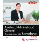 Auxiliar d'Administració General. Ajuntament de Barcelona. Test