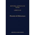 Historia antigua de Roma, Libros I-III