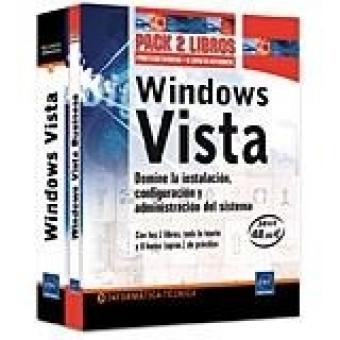 Windows Vista Pack 2 libros: Domine la instalación, configuración y administración del sistema
