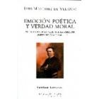 Emoción poética y verdad moral: siete ensayos en torno a la obra de Antonio Machado