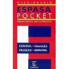 Diccionario Espasa pocket francés-español, español-francés