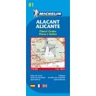 Alacant/Alicante (plano-azul) 81 1/10.000