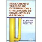 Reglamento técnico de distribución y utilización de combustibles gaseosos