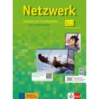 Netzwerk A2.2 Kurs- und Arbeitsbuch mit DVD und Audio-CDs (Teil 2)
