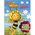 La abeja Maya. Mi libro de adhesivos