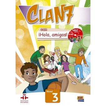 Clan 7 con ¡Hola, amigos! 2 Nivel A1.2 (Cartera de recursos para el profesor)