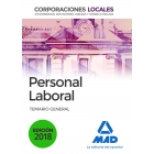 Personal Laboral de Corporaciones Locales.Temario general (Edición 2018)